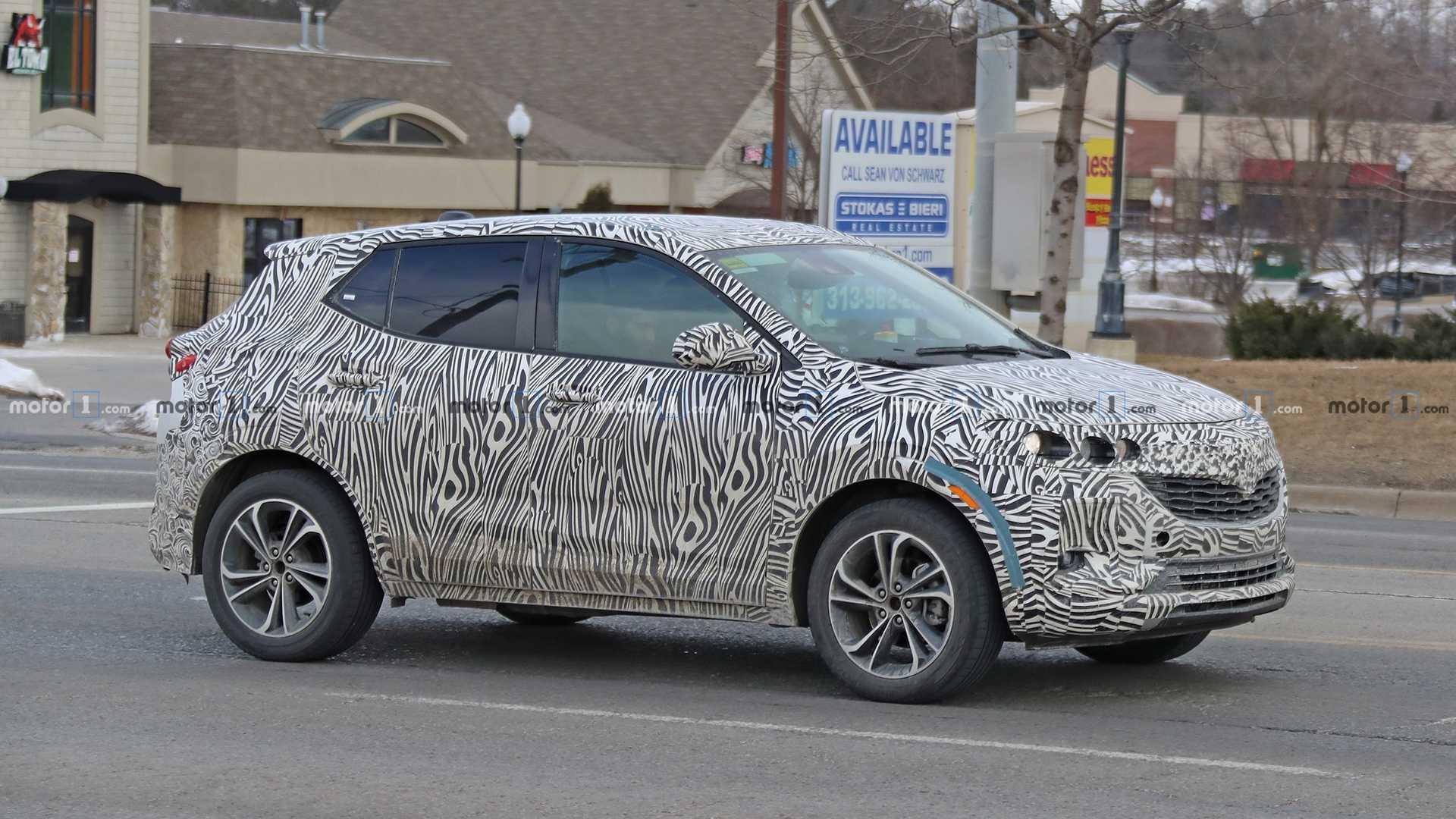 2020 Buick Encore Interior, Spy Photos, Specs >> 2020 Buick Encore Drops Heavy Camo In Latest Spy Photos