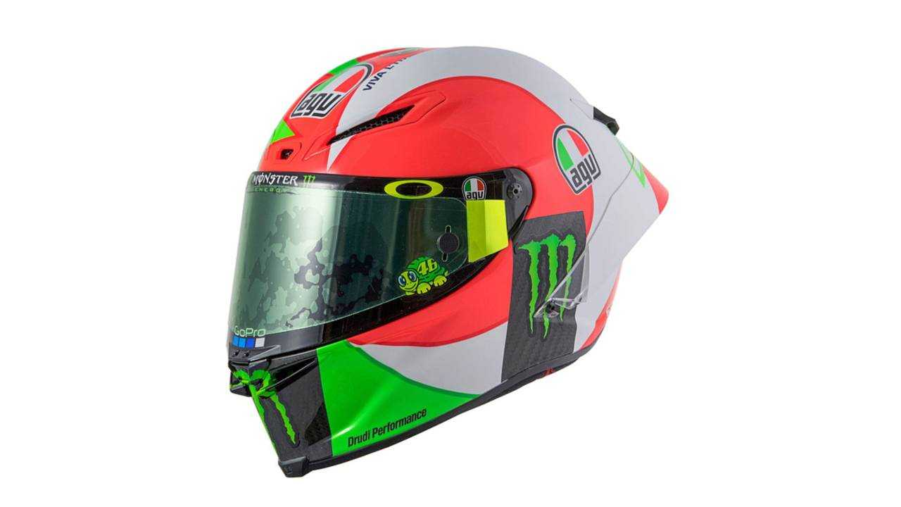 AGV Pista GP R Rossi Tricolor