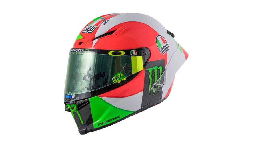 Rossi Repping Italian Pride with New Sun and Moon Design