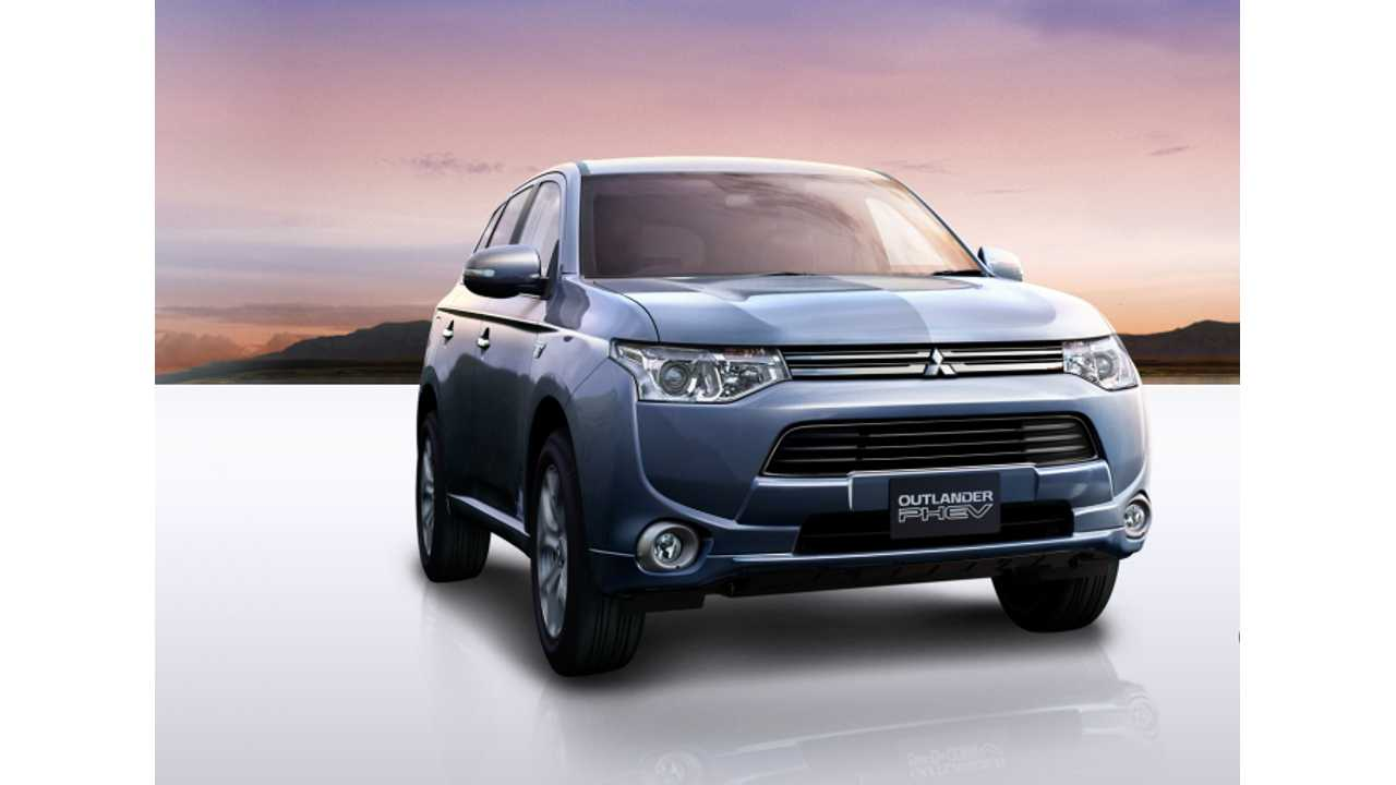 Mitsubishi Says Outlander PHEV & Some i-MiEV Batteries Overheating.  Refrain From Charging