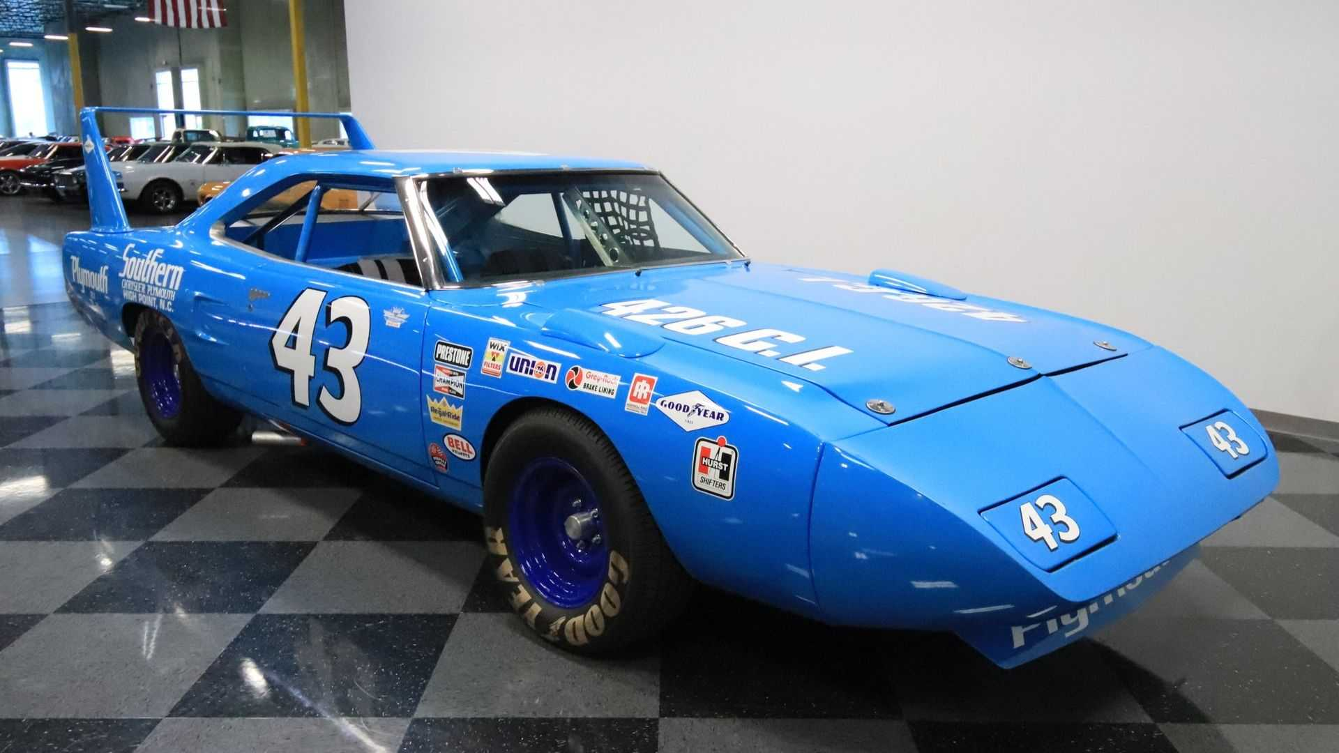 This 1970 Plymouth Superbird Richard Petty Replica Is Pure