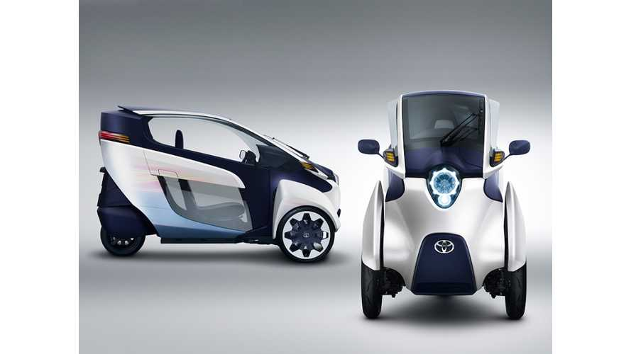 Electric Toyota i-Road Debuts in Geneva (Video)