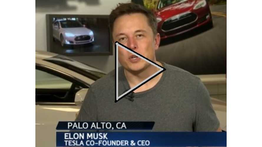 Video: Elon Musk Discusses Tesla Model S