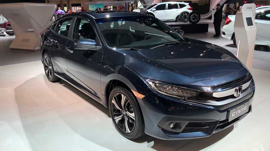 Honda Civic 1.5 turbo tem vendas suspensas na Argentina