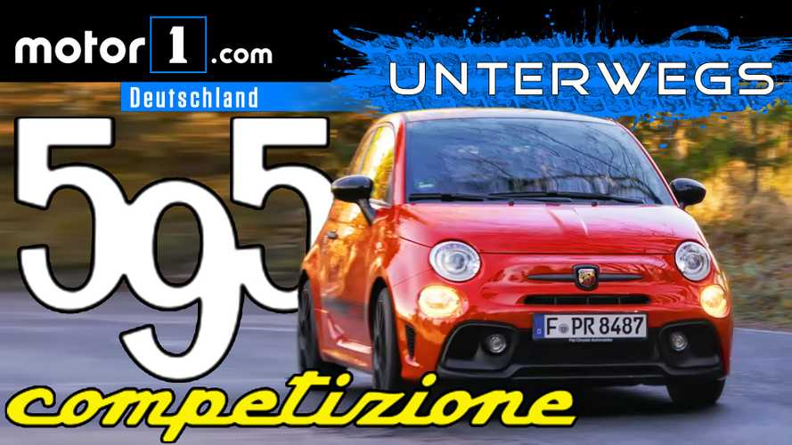 Mini-Ferrari im Video: Abarth 595 Competizione | UNTERWEGS mit Daniel Hohmeyer