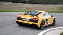 Primera prueba Audi R8 2019, circuito de Ascari