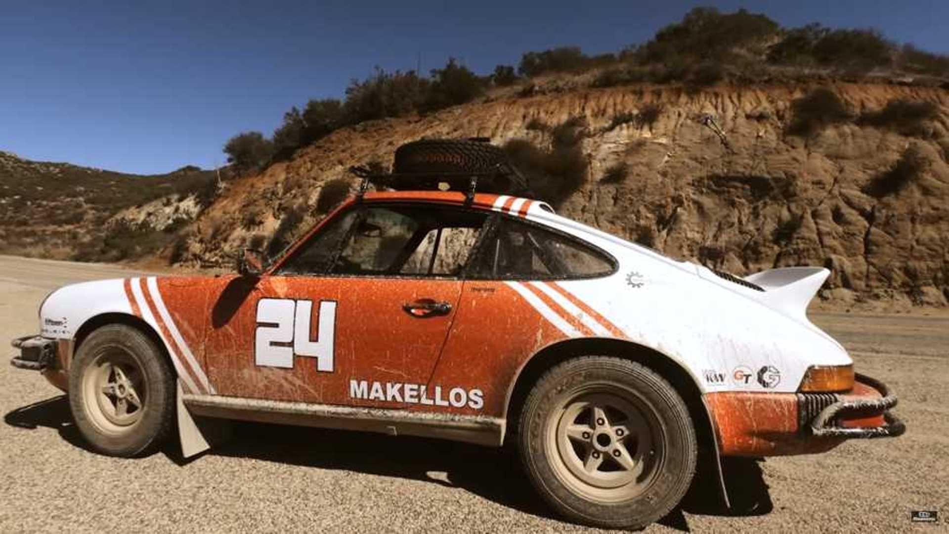 Safari Ready 1978 Porsche 911 Sc Defies Conventions