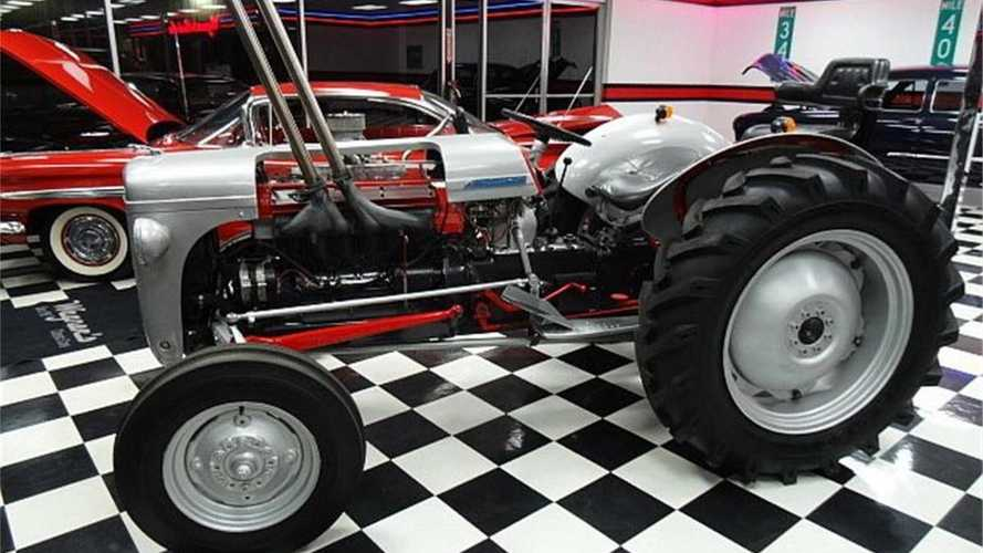 The restomod tractor with a 4.2 litre Jaguar engine