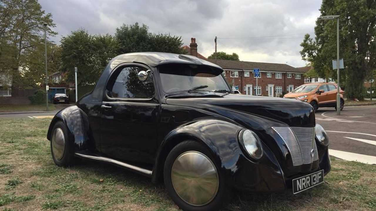 This 1967 VW Beetle has been transformed into a hot rod