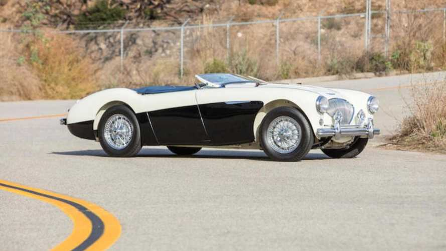 This 1956 Austin-Healey 100M is a ticket to the Mille Miglia