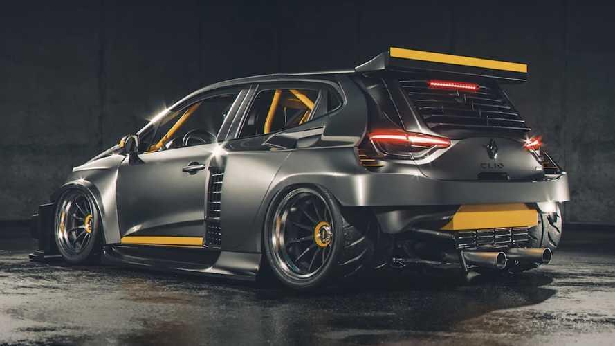 ¿Y si fuera así el Renault 5 Turbo 2020 para competición?