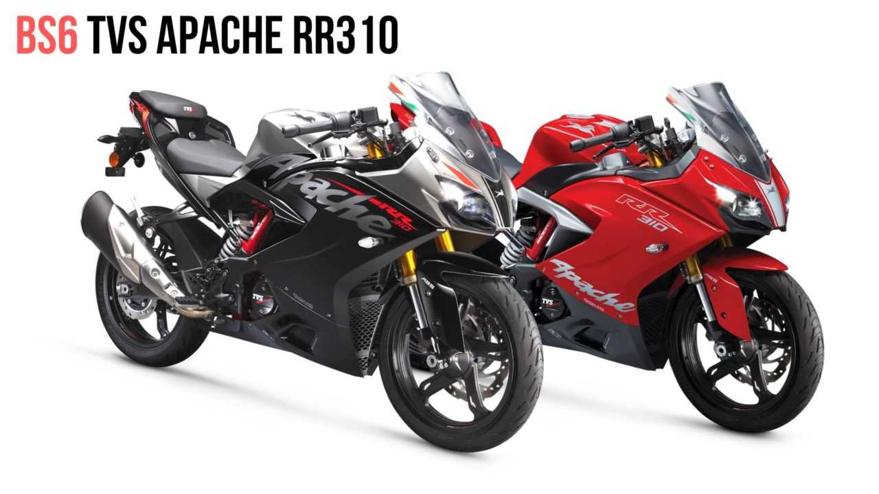 The BS6 TVS Apache RR 310 Is Gets Some Cool Updates
