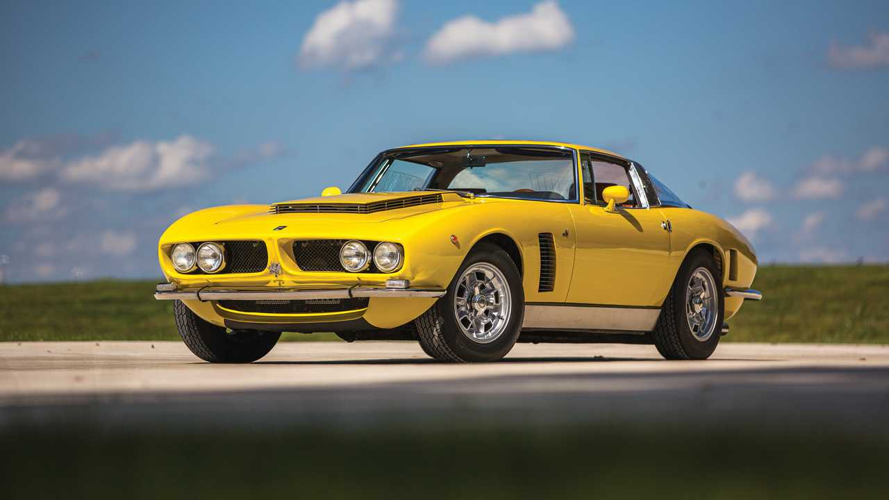 1968 Iso Grifo GL Series I By Beritone