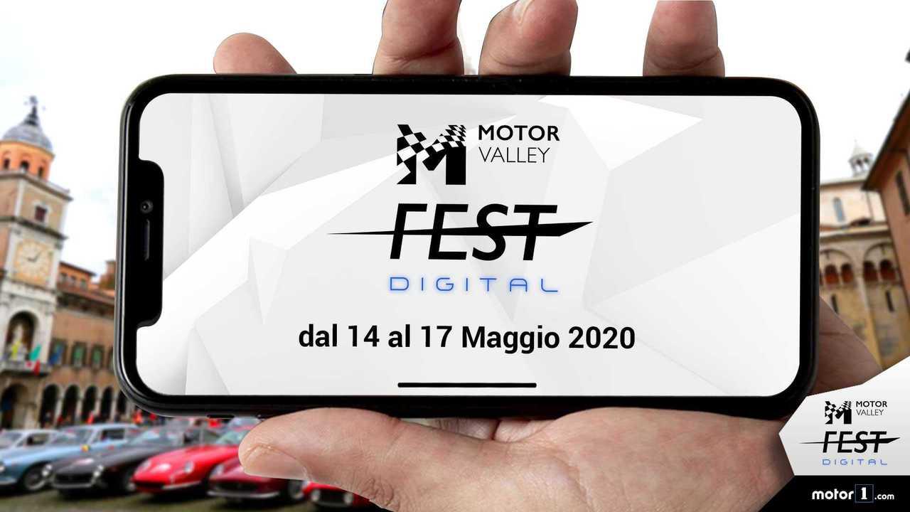 copertina Motor Valley Fest Digital, ecco il programma dell'edizione 2020