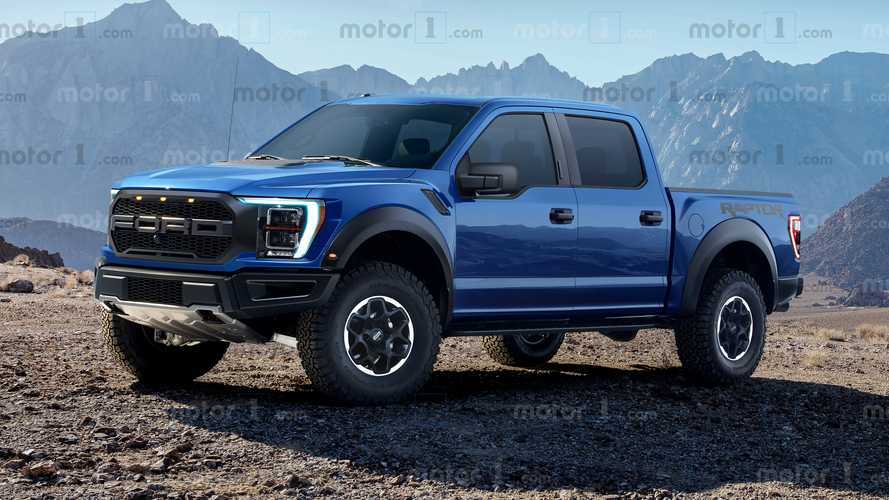 Render Ford F-150 Raptor 2021