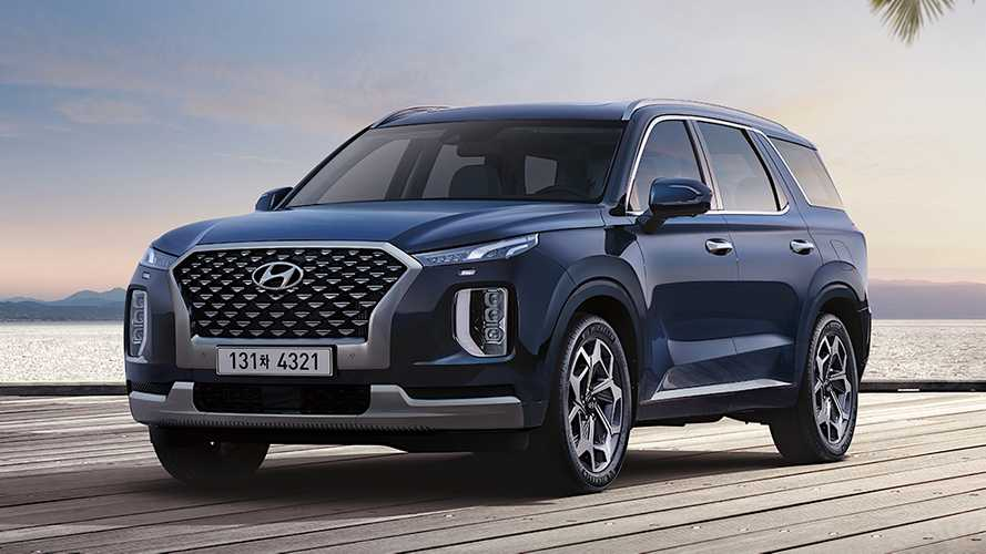 Hyundai Palisade Gets Posh Calligraphy, VIP Trims In Korea