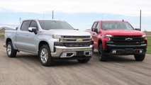 Chevrolet Silverado Drag Race