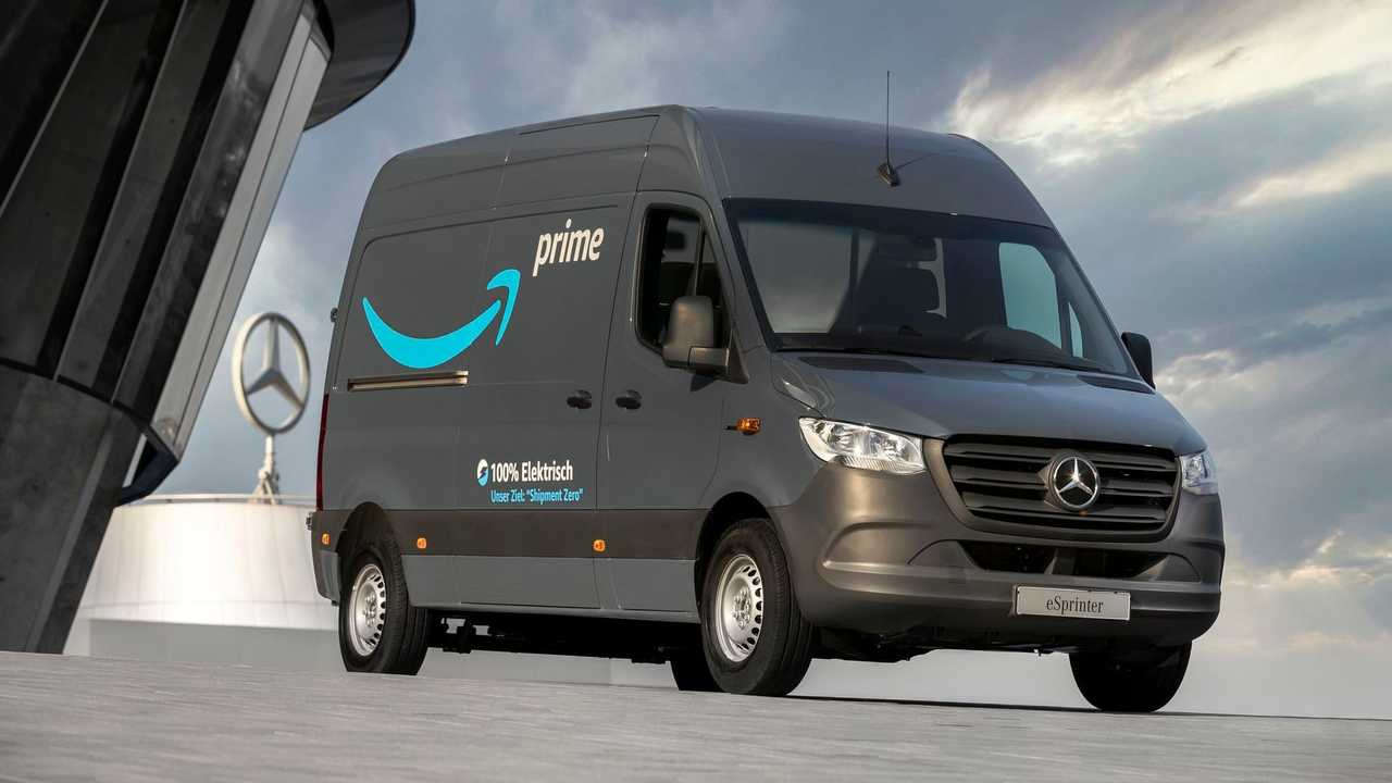 Mercedes-Benz eSprinter in Amazon fleet in Germany