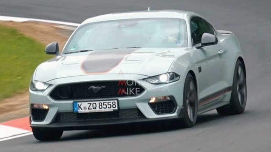 Watch The New Ford Mustang Mach 1 Tackle Nurburgring