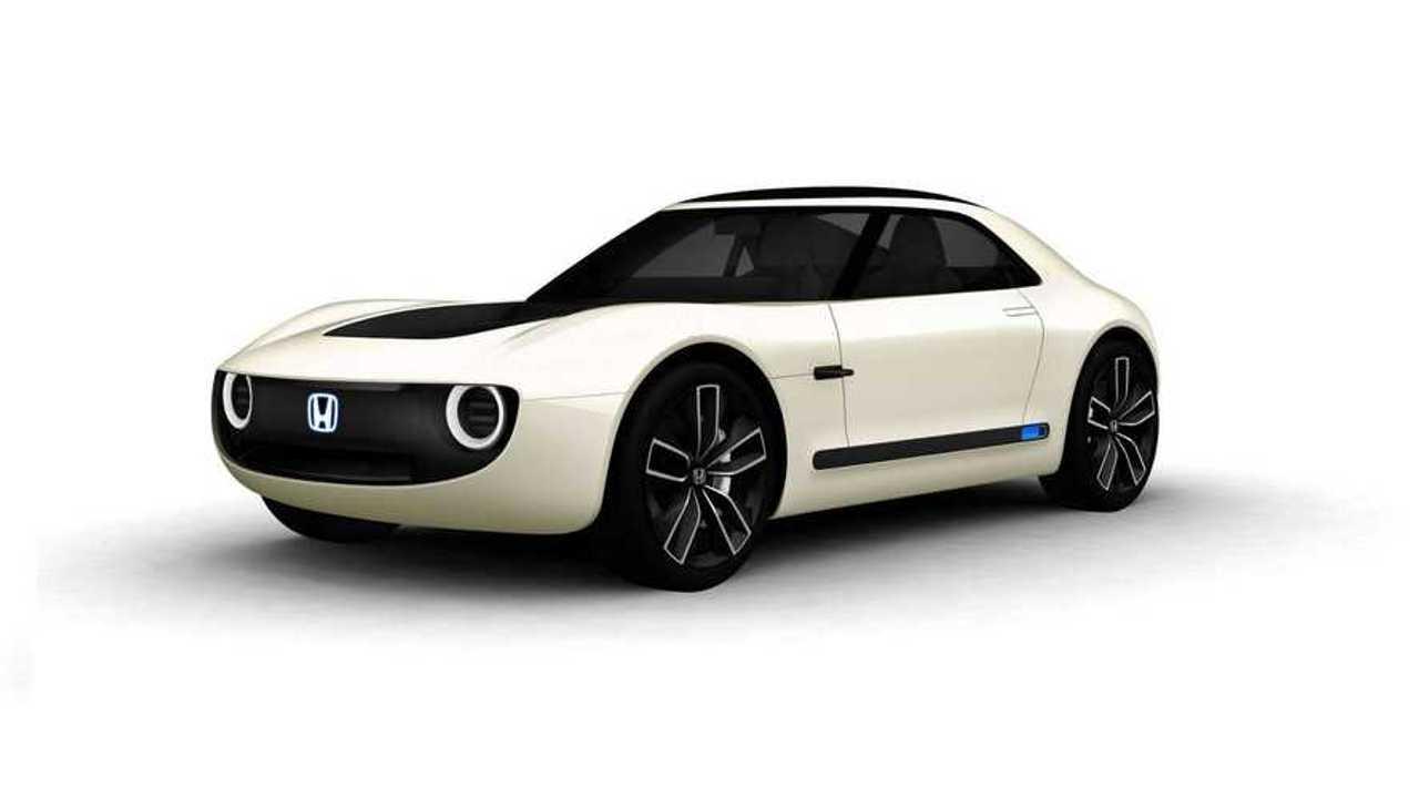 Honda разработала электрическое ретро купе
