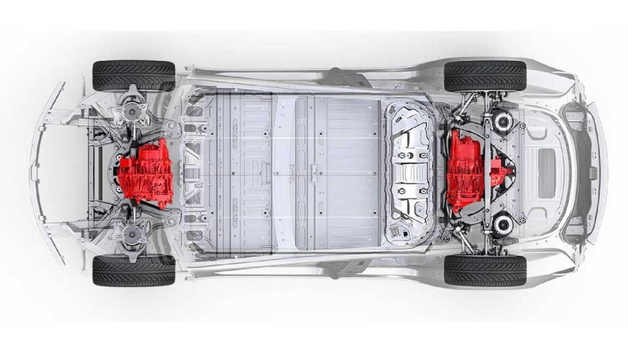 Tesla раскрыла технические характеристики полноприводных версий Model 3