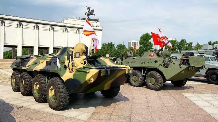 5-й юбилейный бронепробег «Дорога мужества» перенесли на 2022 год