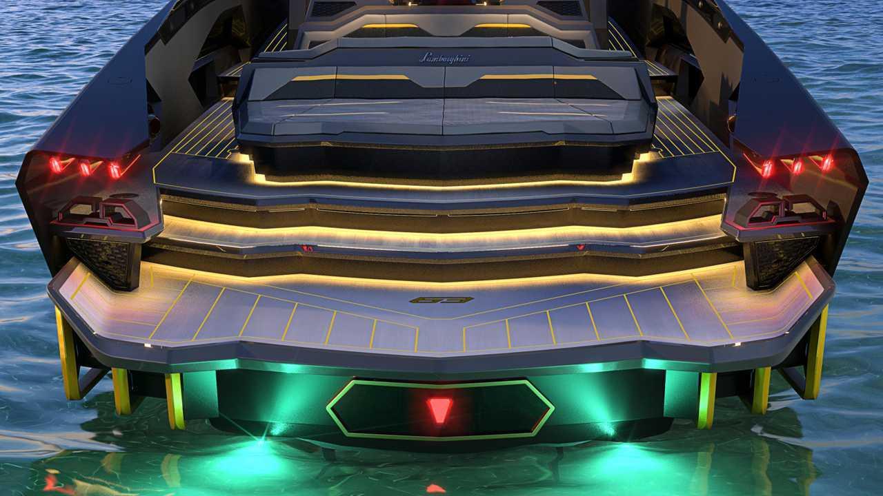 Lamborghini TecnoMar 63 Copertina