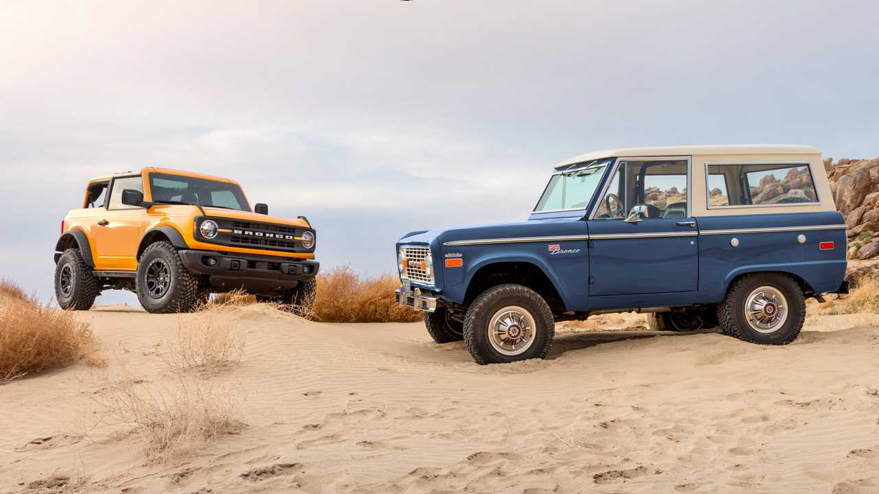 Nuovo Ford Bronco 2021