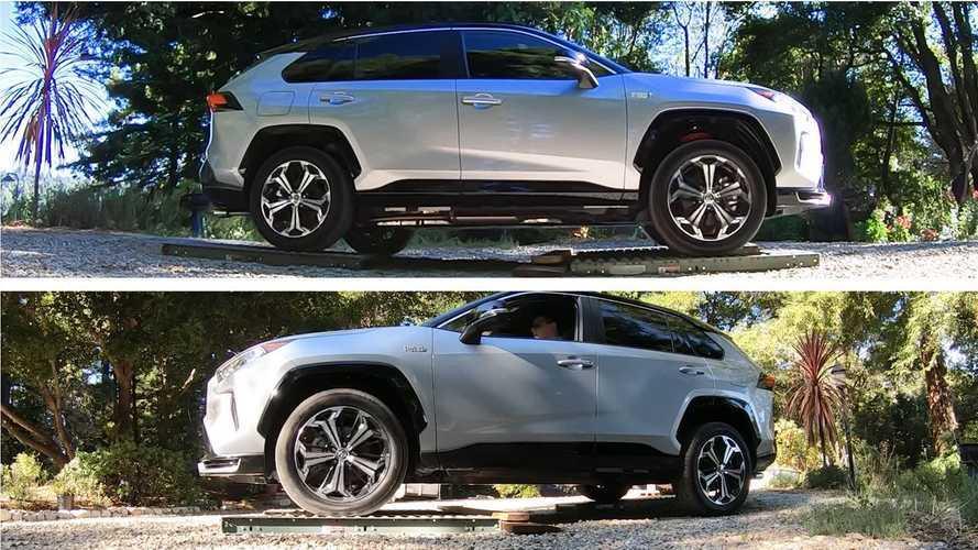 How Will Toyota RAV4 Prime Fare On Dirt & Ice: Is Roller Test Telling?