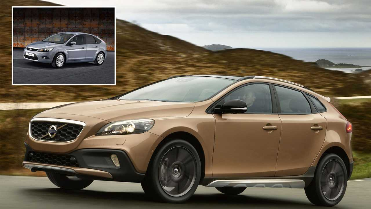 Volvo V40 Cross Country – Ford Focus 2