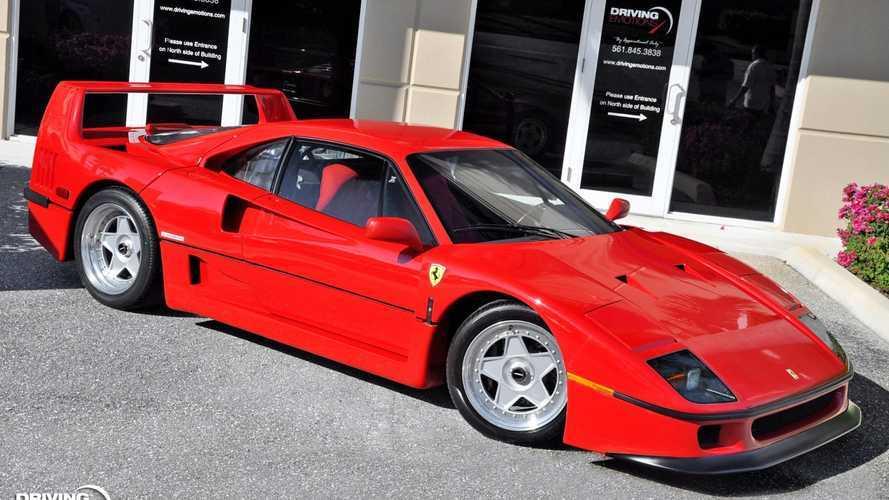 Majdnem 30 éves, de új is lehetne ez a Ferrari F40