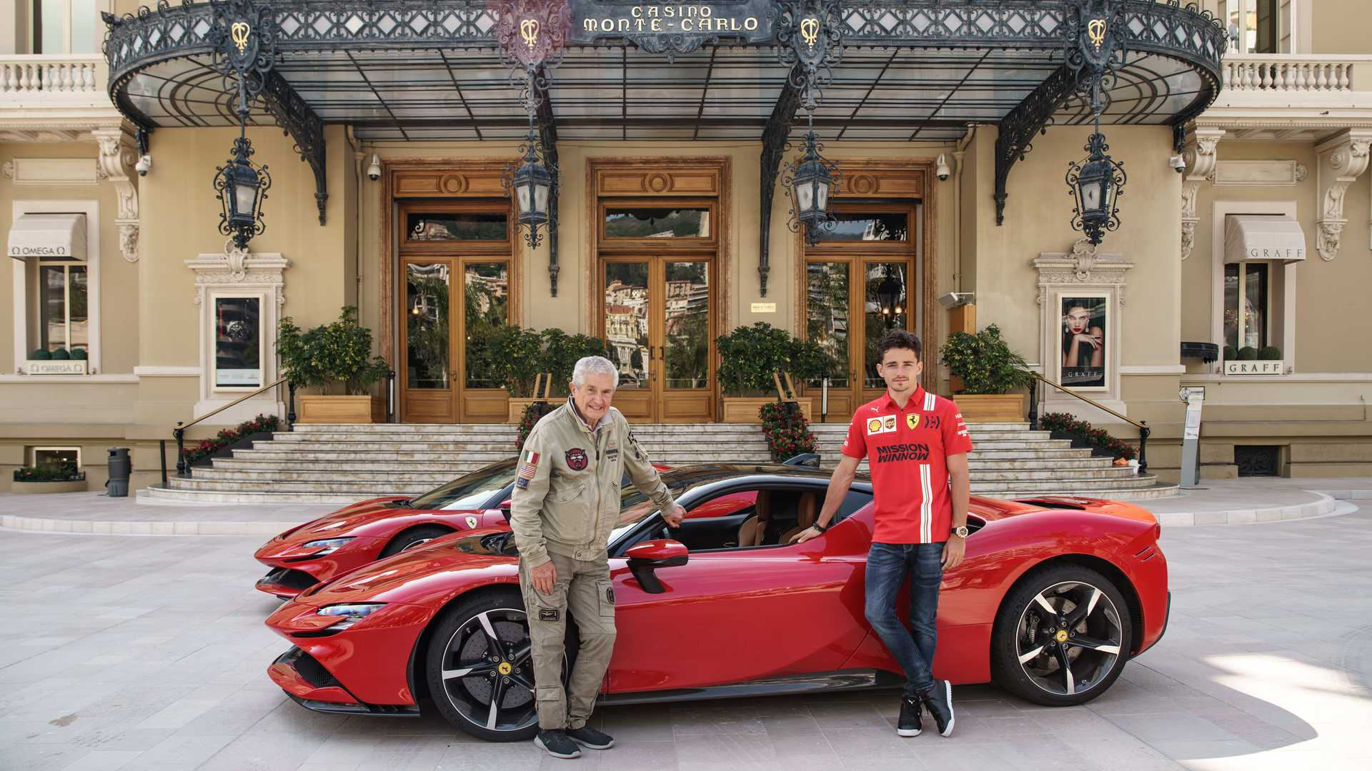 Watch Ferrari S Le Grand Rendez Vous Film Starring Sf90 Stradale