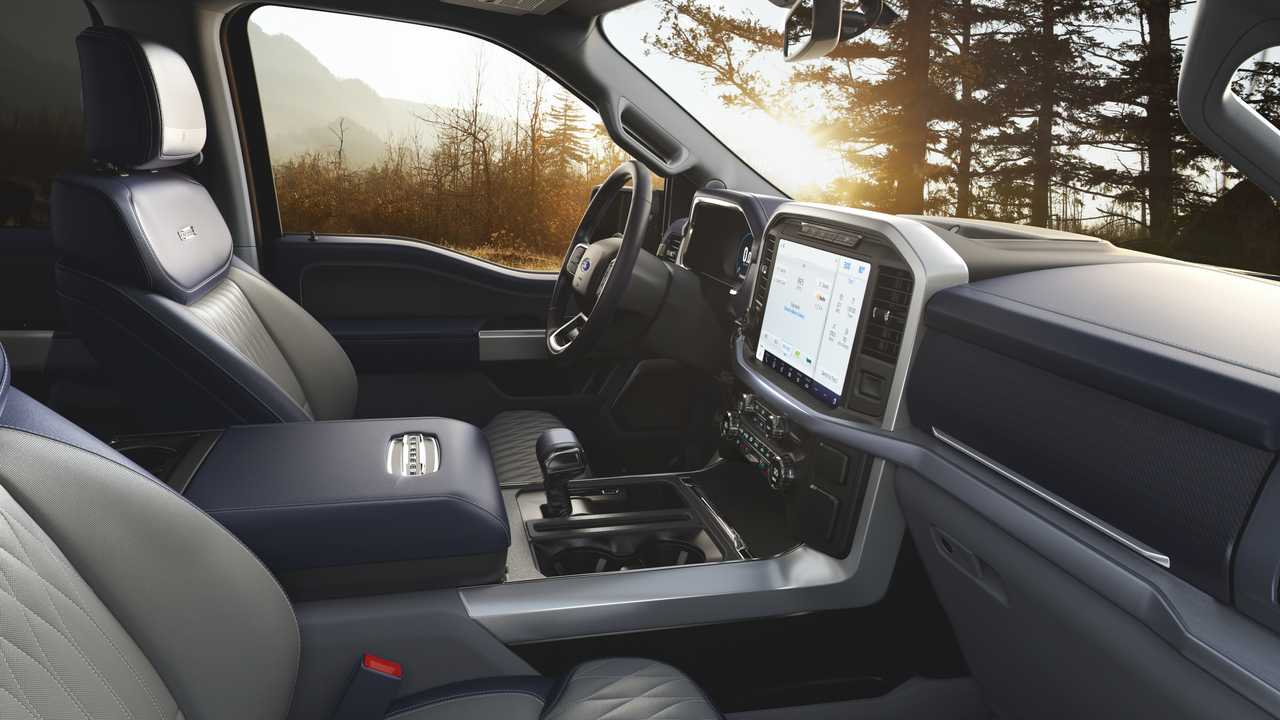 2021 Ford F 150 Interior New Design Features And Tech