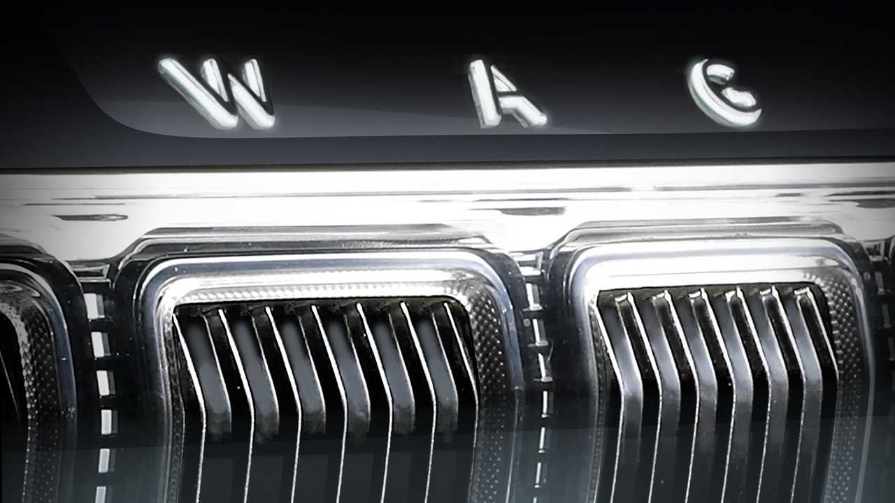 2022 Jeep Grand Wagoneer Teasers
