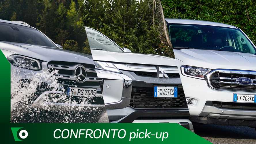 Pick-up a confronto, Ford Ranger vs Classe X e L200