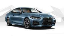 Nuova BMW Serie 4 Coupé, il rendering senza targa