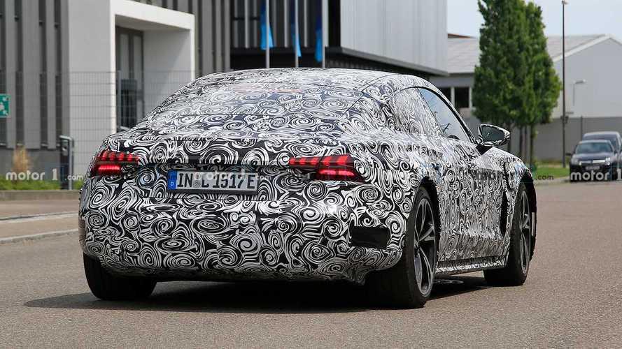 Le développement de l'Audi e-tron GT se poursuit
