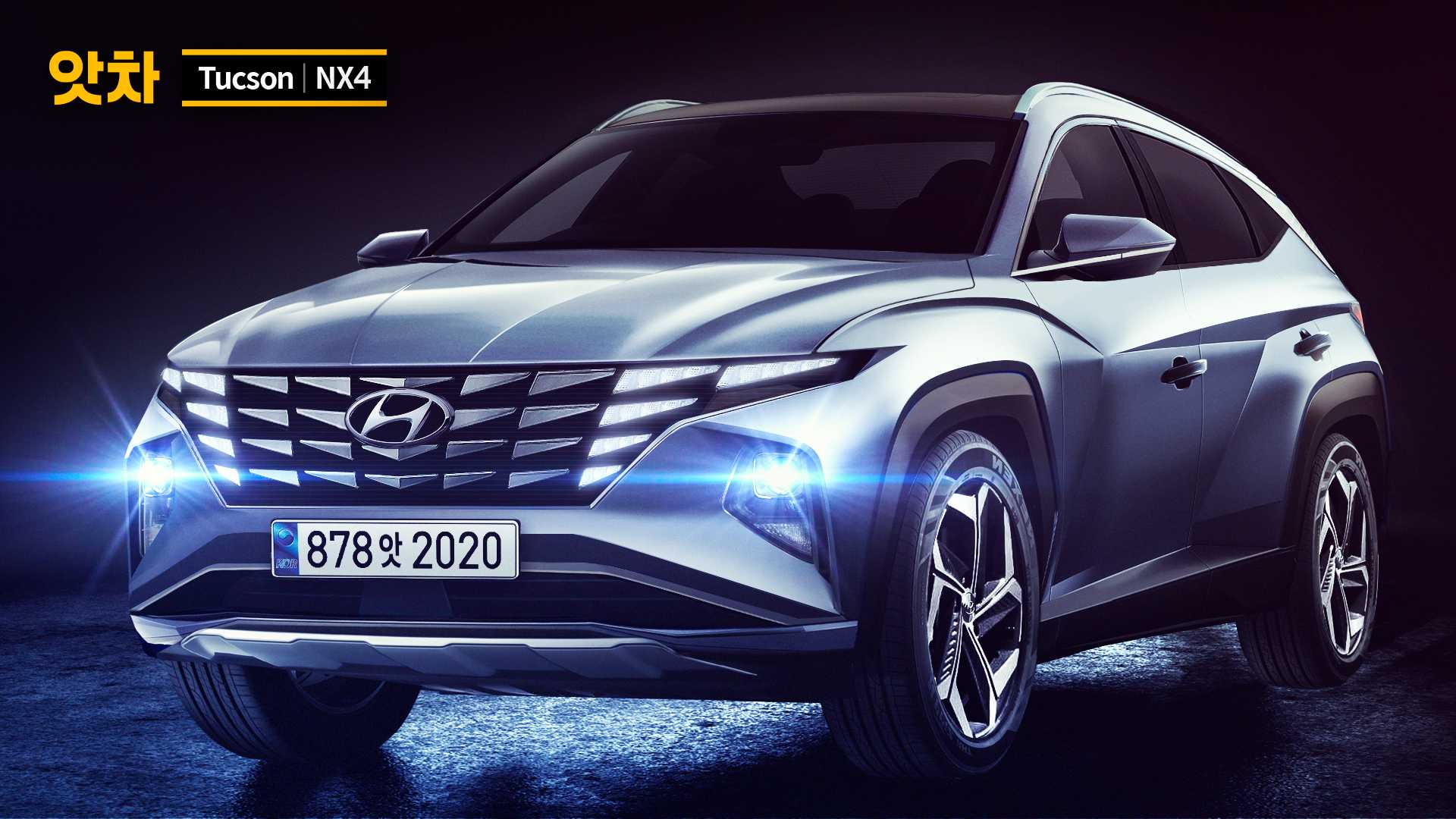 2021 hyundai tucson renderings could it be this bold