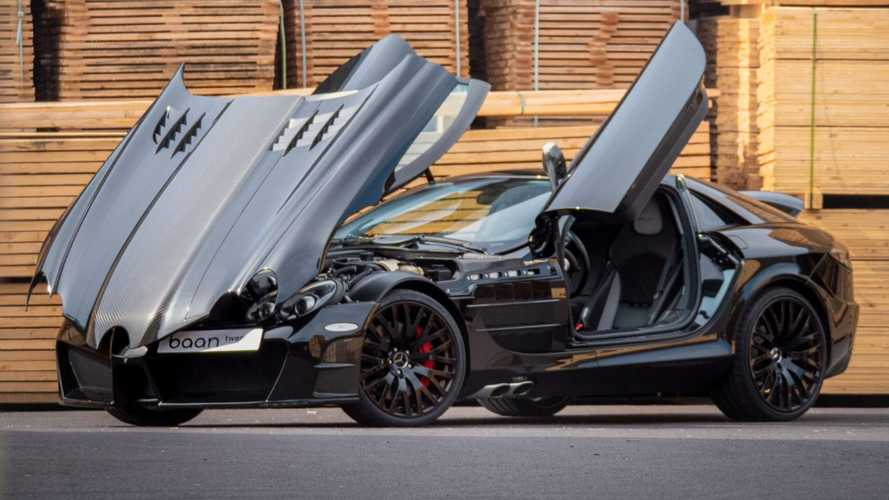 Mercedes SLR McLaren By Mansory Is The Batmobile Of Tuned Cars