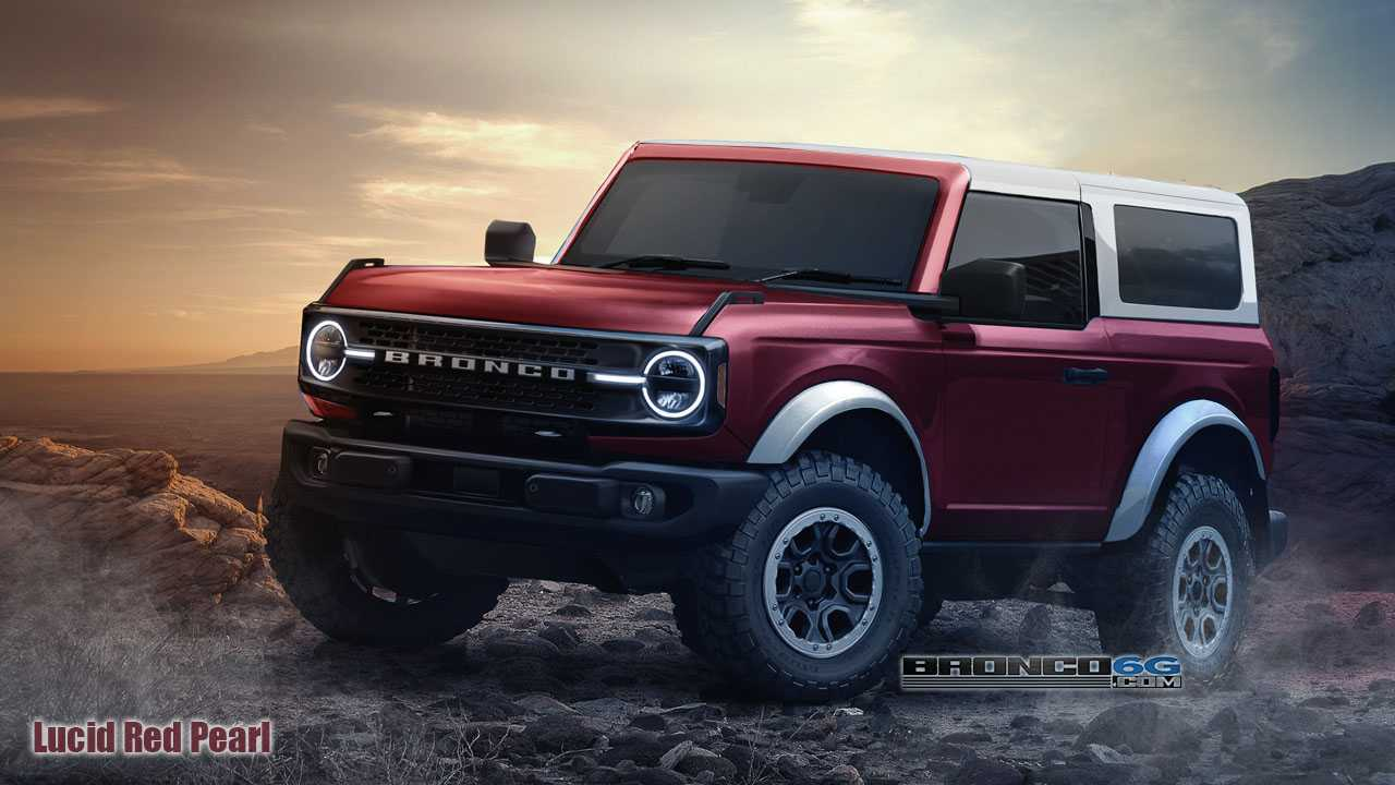 2021 Ford Bronco 2-Door