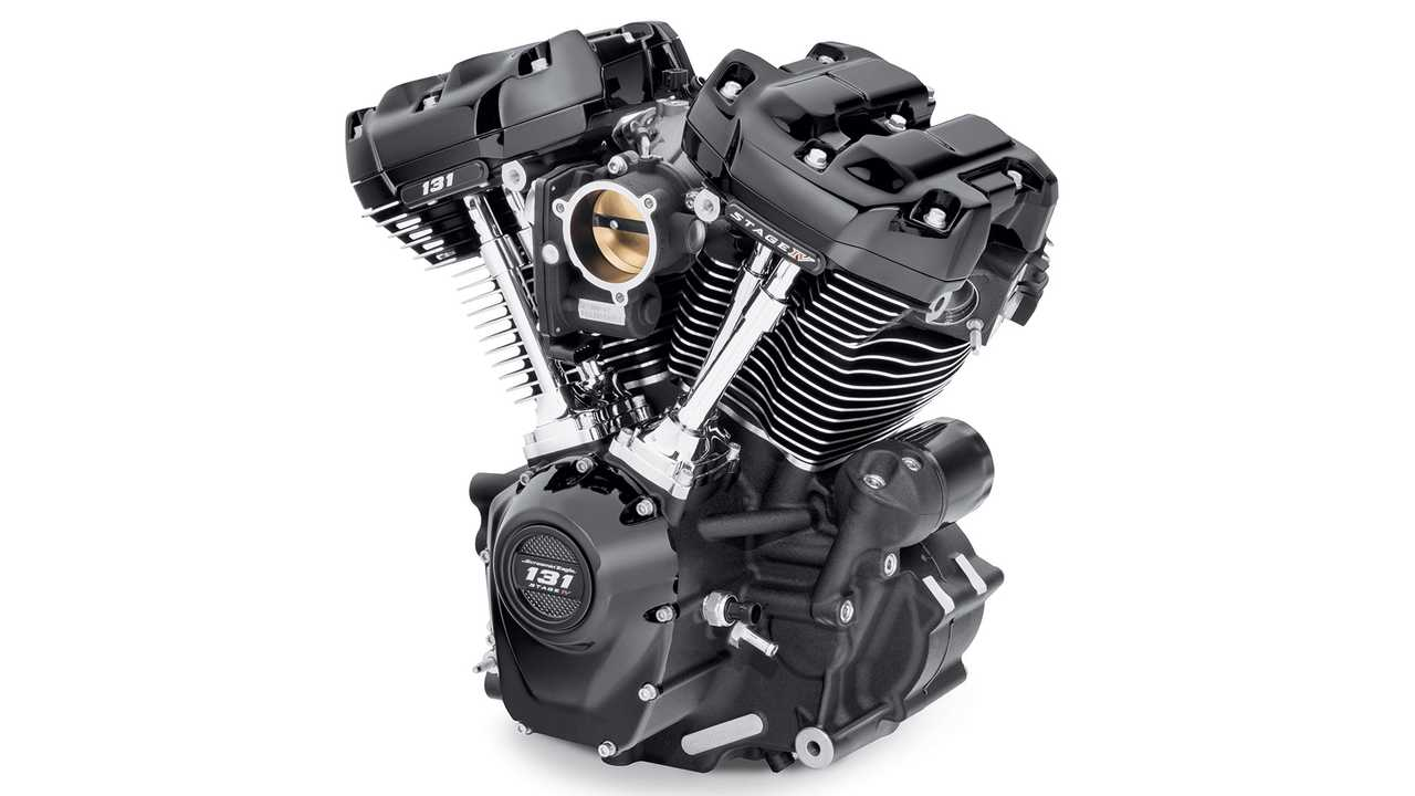 Harley-Davidson Scramin' Eagle Milwaukee-Eight 131 Engine
