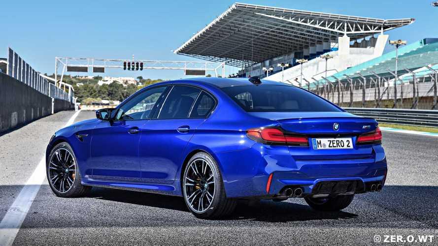 BMW M5 2020, render
