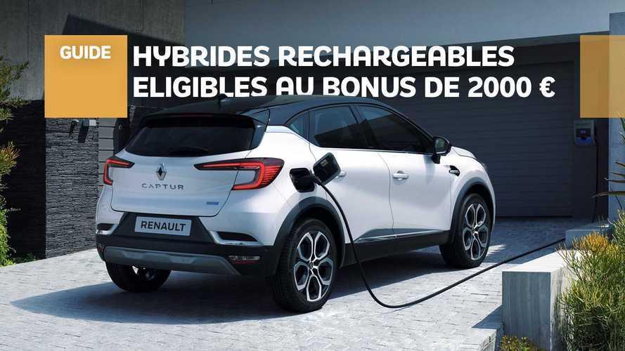 Bonus de 2000 € - Quel hybride rechargeable choisir ?