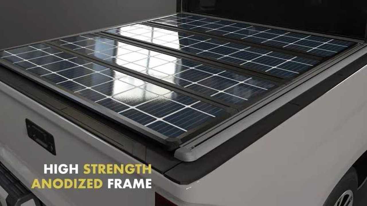 TerraVis Solar Panels for trucks
