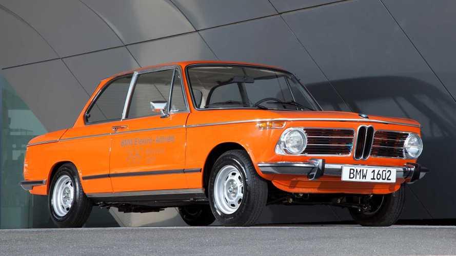 BMW 1602 Elektro (1972): Der Opa des i3 wurde zum Olympia-Star