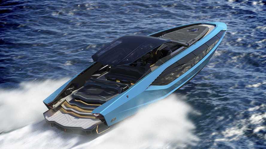 Lamborghini si supera con lo yacht da 4.000 CV che costa più della Sian