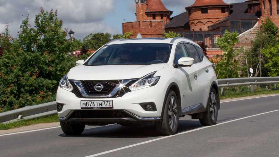 Тест-Драйв Nissan Murano HEV