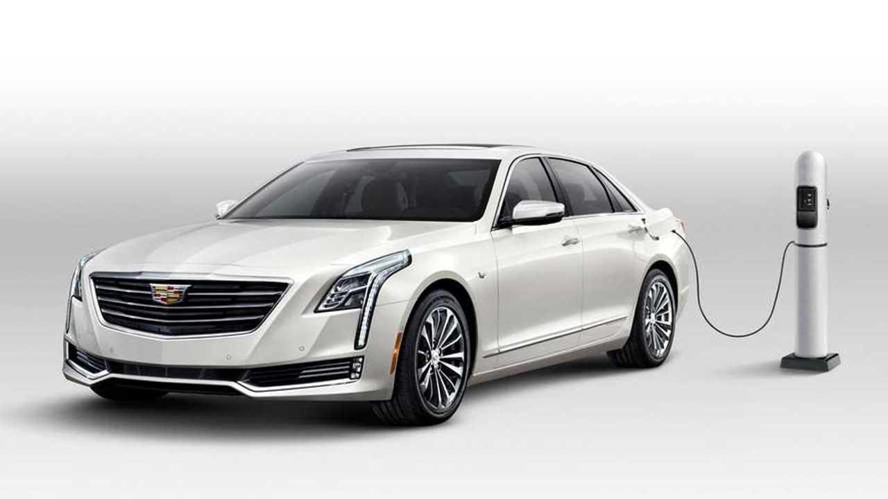 GM начал продавать в США гибридный Cadillac китайского производства