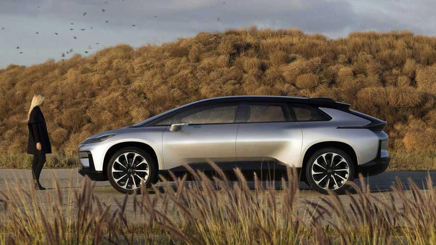 Anti-Tesla Model X, SUV elétrico de 1.050 cv da Faraday será feito pela Geely