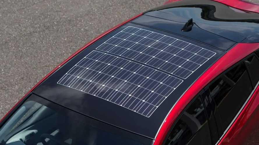 Toyota научит свои электрокары ловить солнце